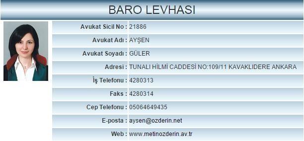 Avukat Ayşen Güler