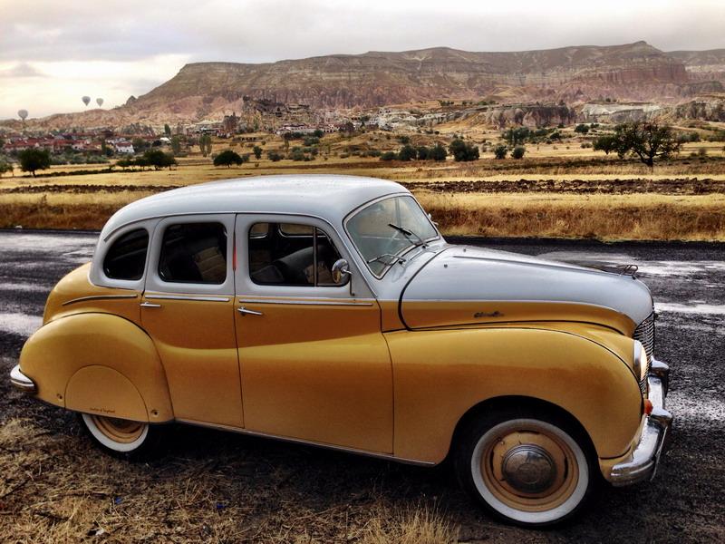 Austin A70 - Hampshire - 06AUS50, Özderin Arabaları, OZDERIN,M. 1949